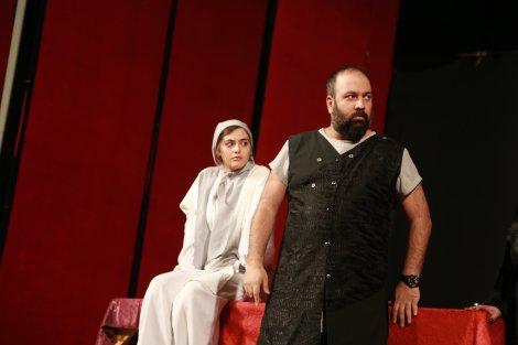 اجرای نمایش «لیگ قهرمانان، مرحله گروهی» در ساری