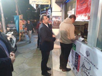 فرهنگسازی استاندار مازندران با خرید بلیت جشنواره فیلم فجر