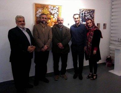 افتتاحیه نگارخانه «مهرُدی» در قائمشهر