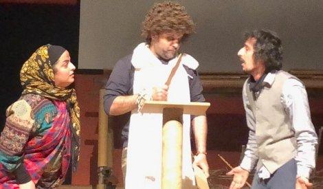 تیزر نمایش بومی «گرگ دختر» به کارگردانی وحید کبیری