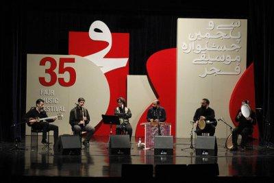 گروه های موسیقی کایر و اقبال آذر به روی صحنه میروند