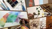 وبسایت «آرتپالت» کارگاه مجازی آموزش هنرهای تجسمی برگزار میکند