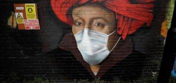 هنر خیابانی با محوریت کرونا