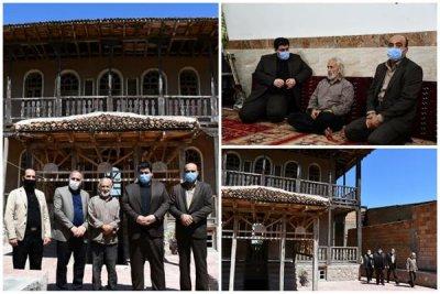 دیدار مدیر کل اداره فرهنگ و ارشاد اسلامی مازندران با استاد«محمدرضا اسحاقی»