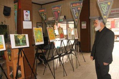 نمایش هنر دست نقاشان برجسته کشور در  نمایشگاه «طریق تجلی 2»