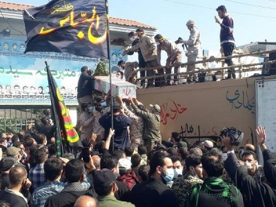 پنج شهید مازندران در خاک وطن آرمیدند