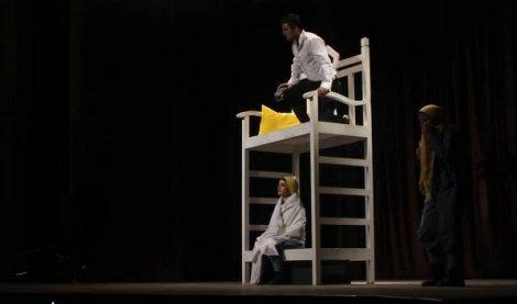 گزارش تصویری از اجرای نمایش «هزار و یک شب»