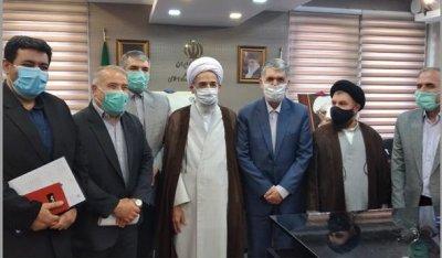 دیدار اعضا شورای سیاستگذاری همایش آیت الله کوهستانی با وزیر ارشاد