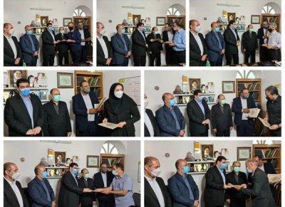 نشست عباس زارع با اصحاب فرهنگ و هنر شهرستان رامسر